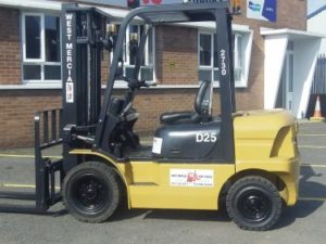 Scroll Down to see this Forklift Video