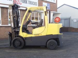 Hyster S7.00ft Forklift