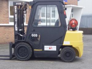 Used DOOSAN G33P Gas Forklift
