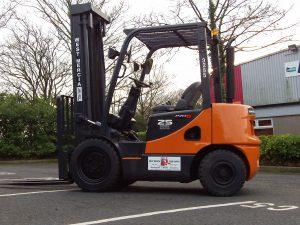 DOOSAN D25S Used Forklift