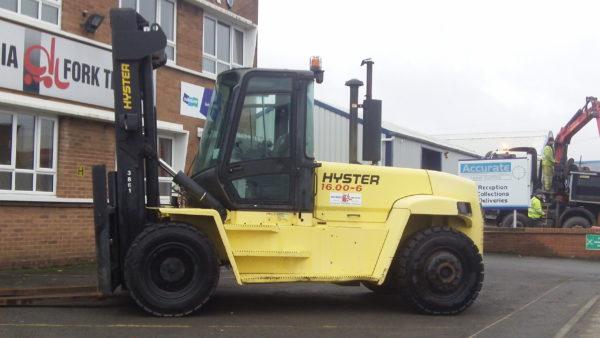 West Mercia Forklift Hyster