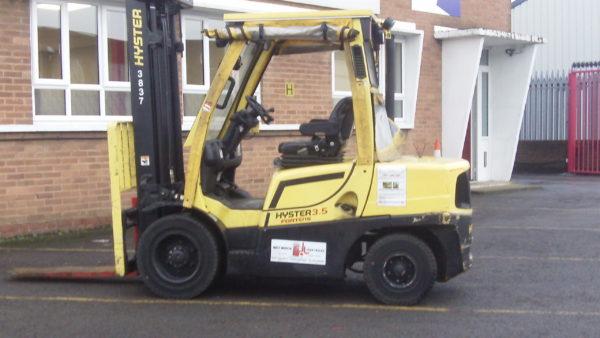 West Mercia Forklift Hyster 3.5