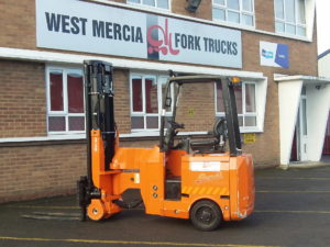 Used Articulated Fork Truck