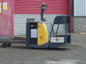 Warehouse Ride-on Stacker