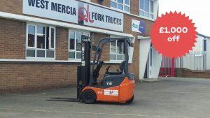 Black FriYay Forklift Discount