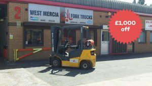Black FriYay Forktruck Sale
