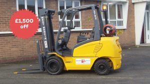 Black FriYay Used Forklift Sale