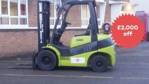 Black FriYay Forklift Sale