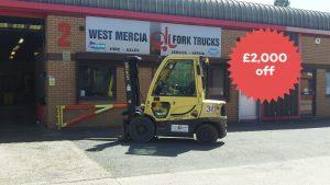Black FriYay Offer on Forklift