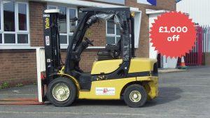 Black Friday discount on Forklift