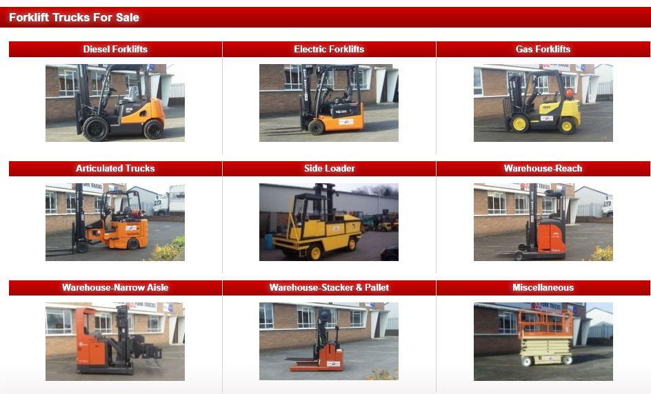 Forklift Trucks For Sale